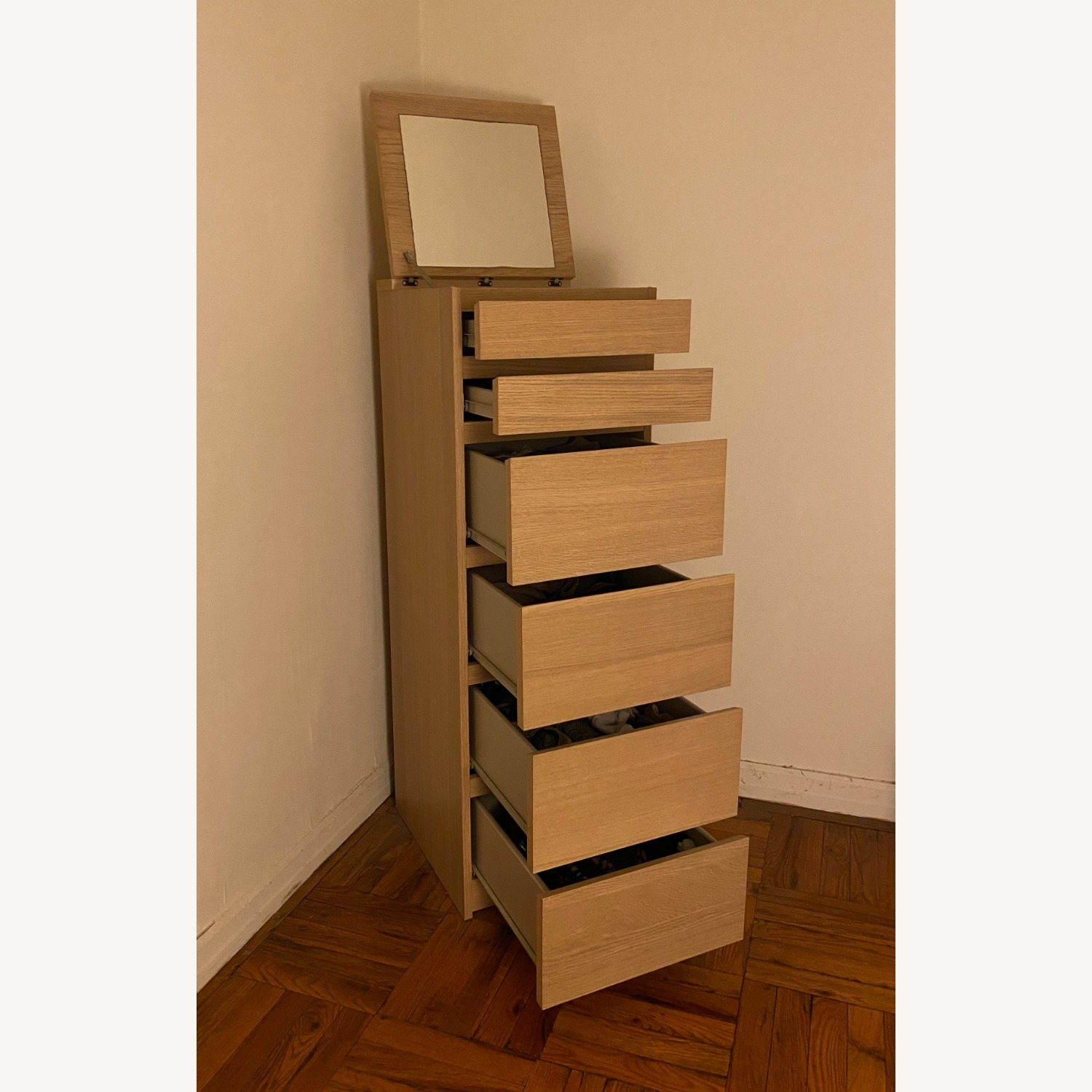 IKEA Malm 6 Drawer Chest - image-3