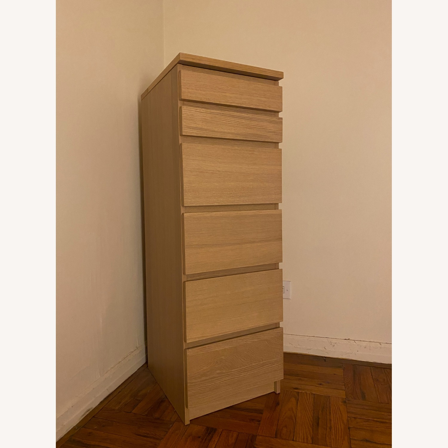 IKEA Malm 6 Drawer Chest - image-1