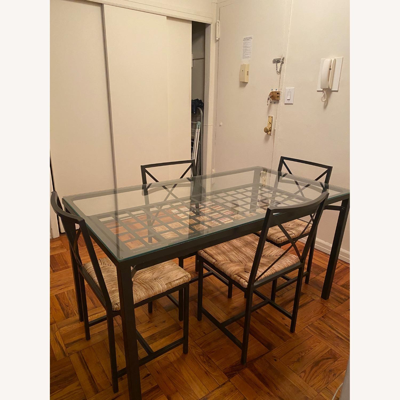 IKEA Granas Dining Set w 4 Chairs - image-1