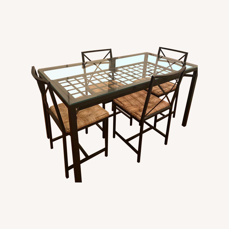 IKEA Granas Dining Set w 4 Chairs - image-0