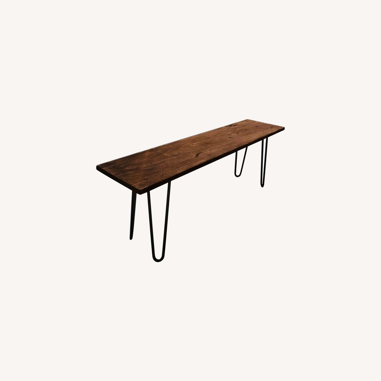 Mid Century Modern Handmade Coffee Table - image-6