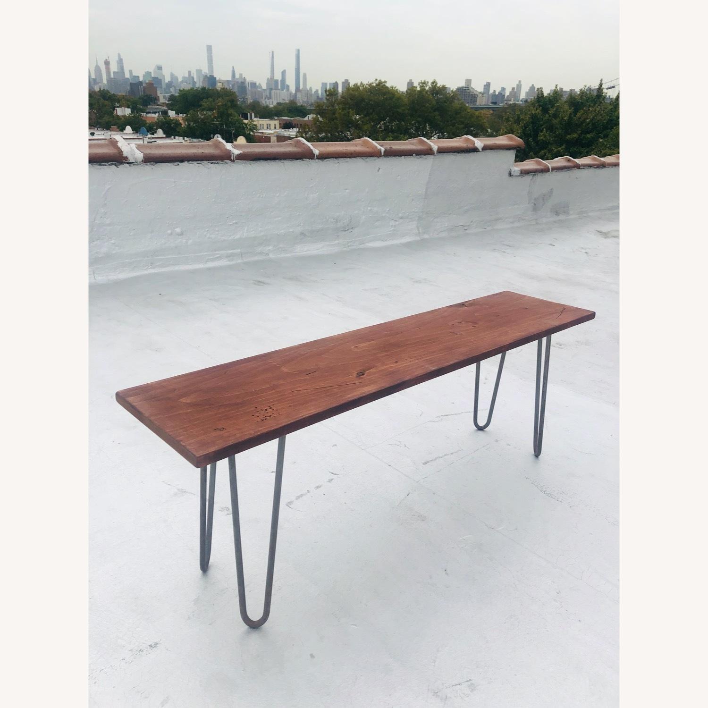 Mid Century Modern Handmade Coffee Table - image-7