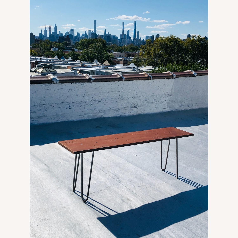 Mid Century Modern Handmade Coffee Table - image-0