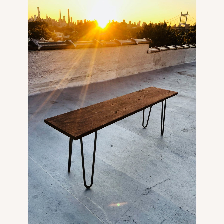 Mid Century Modern Handmade Coffee Table - image-1
