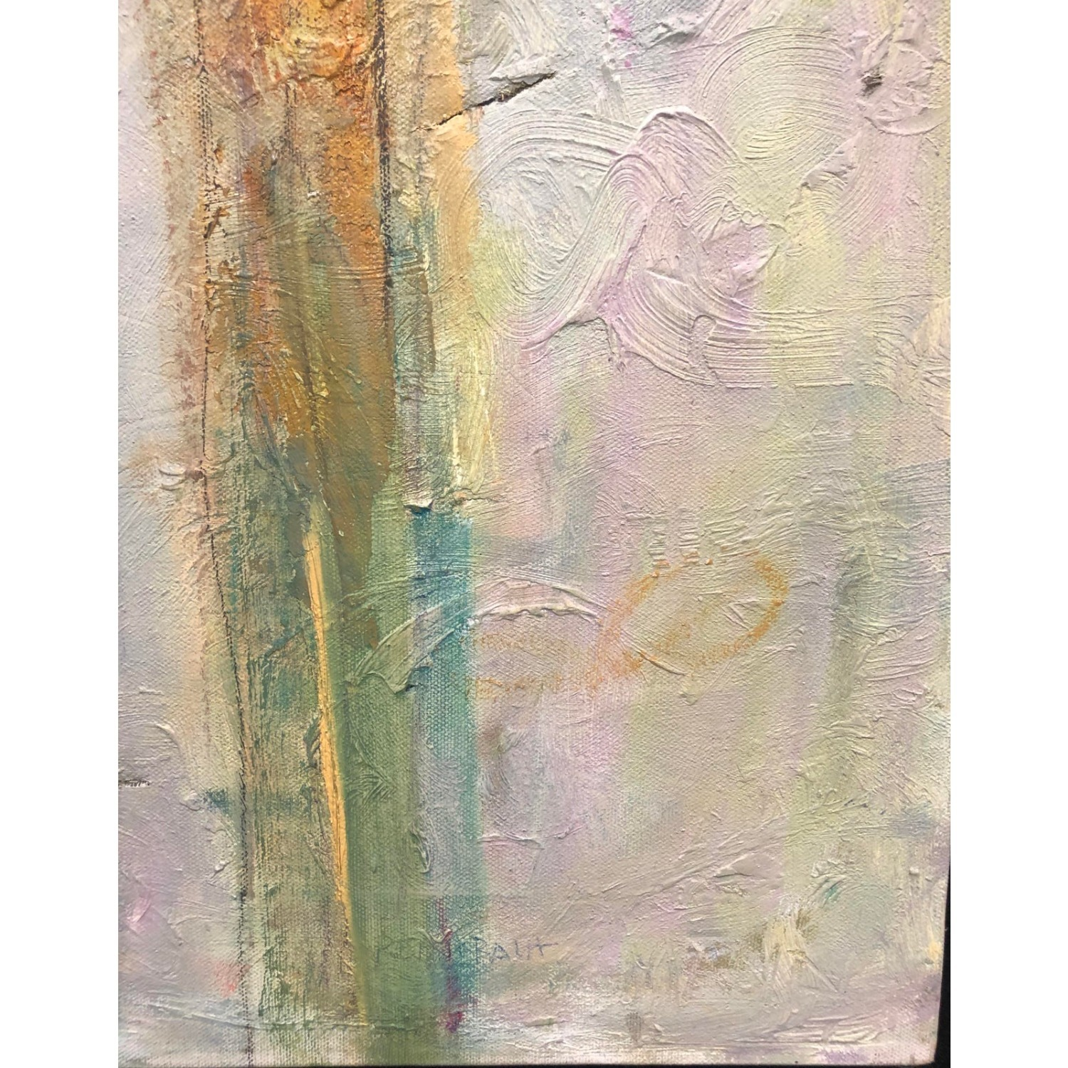 Upward Original Abstract Expressionist Painting - image-3