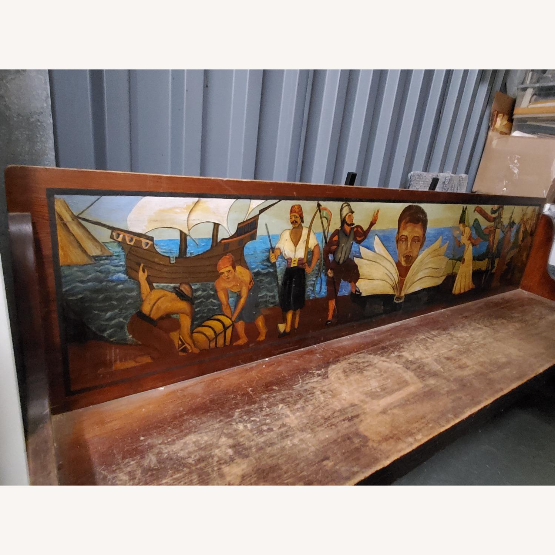 Antique Childrens Bench - image-2