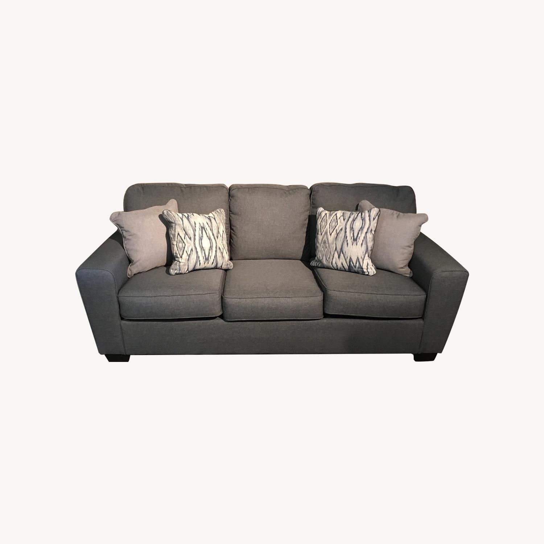Ashley Grey Sofa - image-0