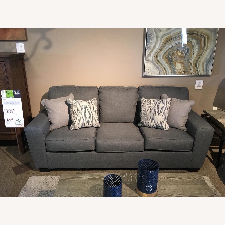 Ashley Grey Sofa - image-1