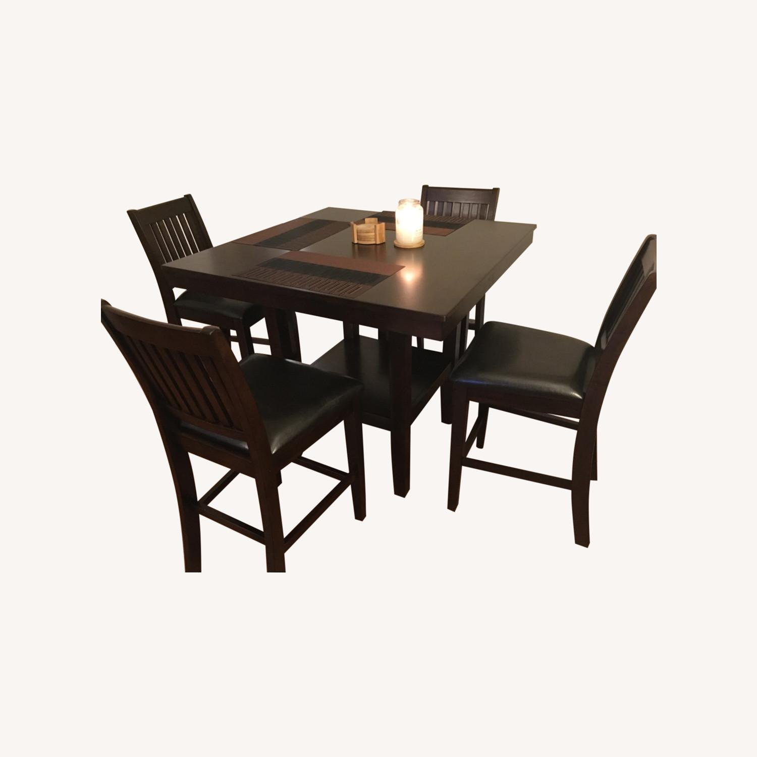 Wayfair 5 Piece Warm Cherry Dining Set - image-0