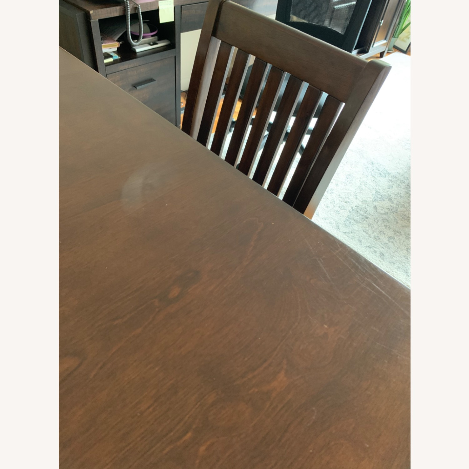 Wayfair 5 Piece Warm Cherry Dining Set - image-4