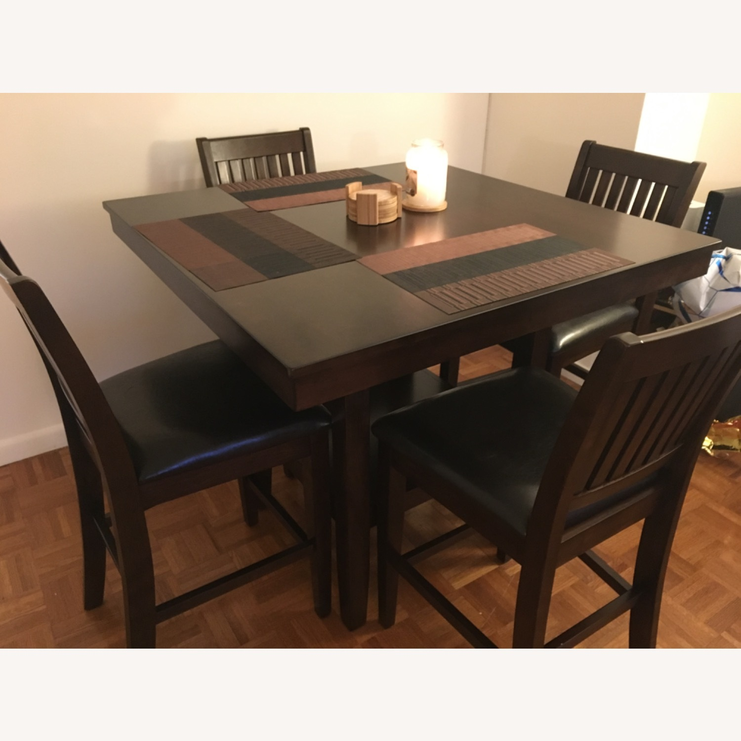 Wayfair 5 Piece Warm Cherry Dining Set - image-2