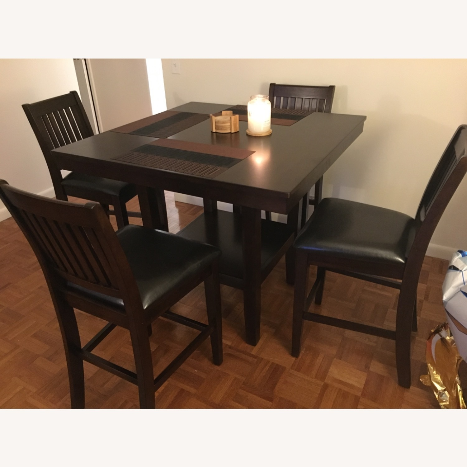 Wayfair 5 Piece Warm Cherry Dining Set - image-1