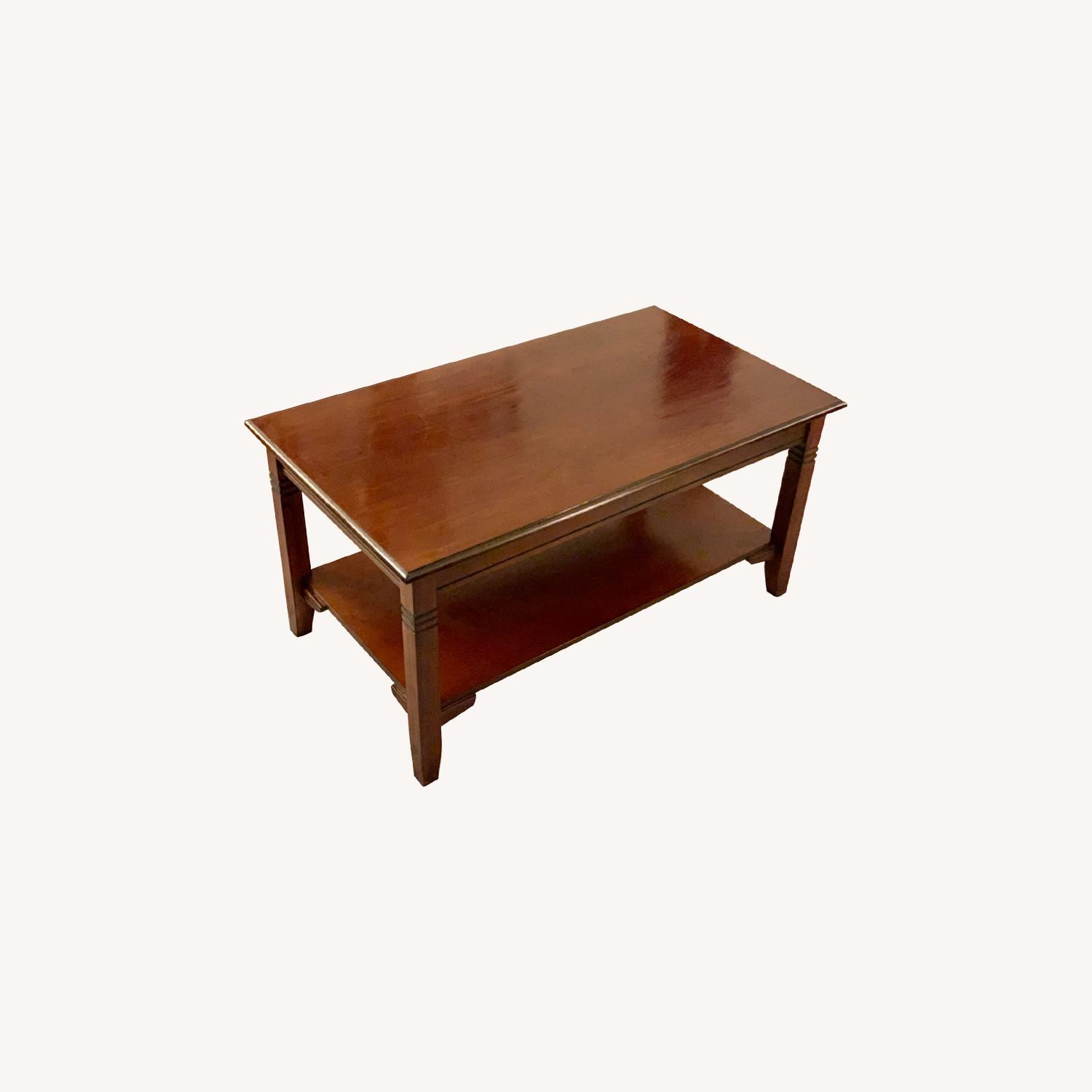 Wayfair Espresso Coffee Table - image-0