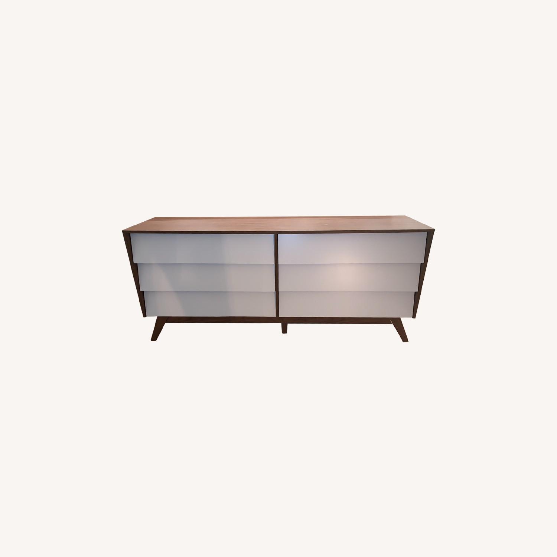 AllModern Donnelly 6 Drawer Double Dresser - image-0