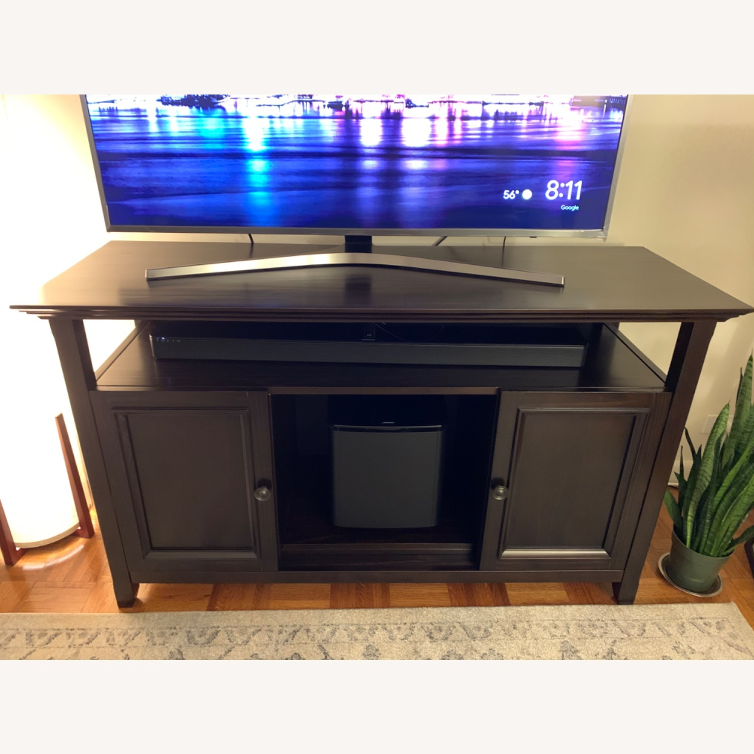Wayfair Solid Wood TV and Media Stand - image-5