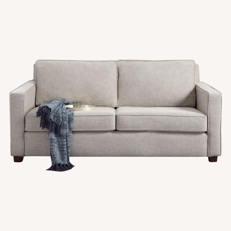 West Elm Henry Sofa Grey Twill - image-0