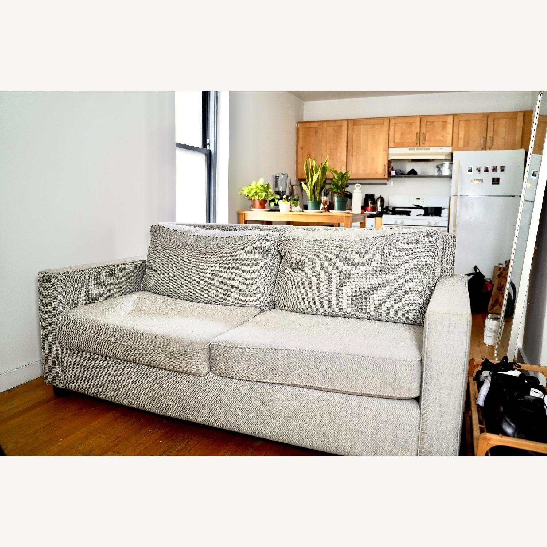 West Elm Henry Sofa Grey Twill - image-1