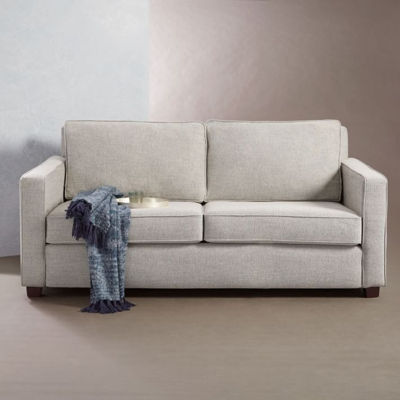 West Elm Henry Sofa Grey Twill - image-4