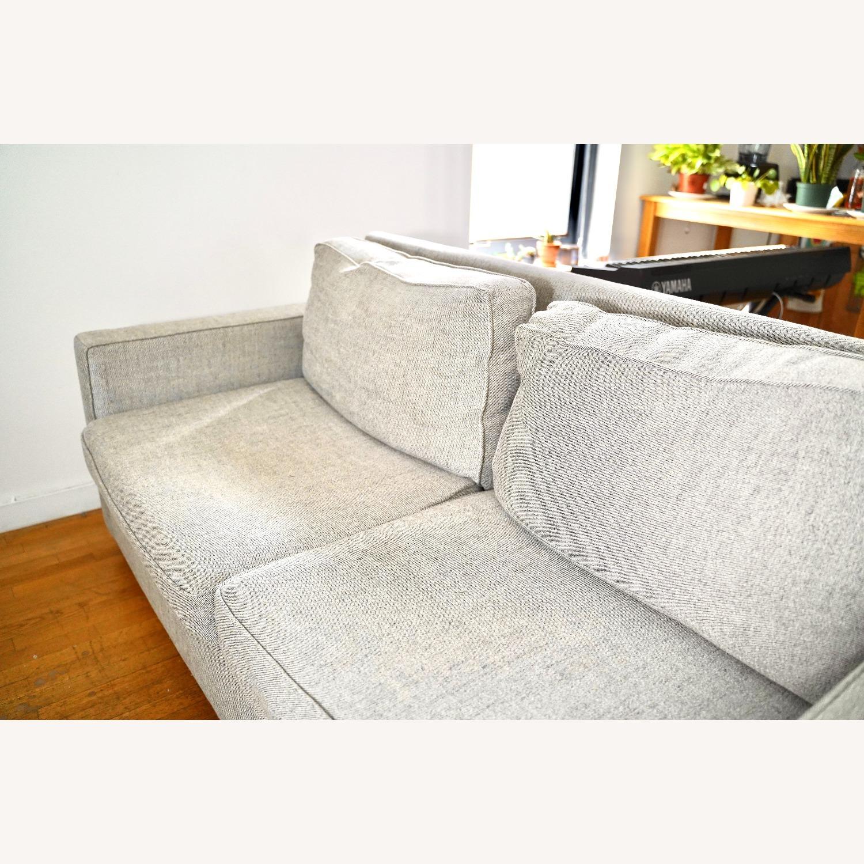 West Elm Henry Sofa Grey Twill - image-3