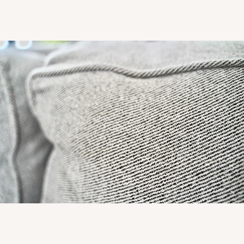West Elm Henry Sofa Grey Twill - image-2