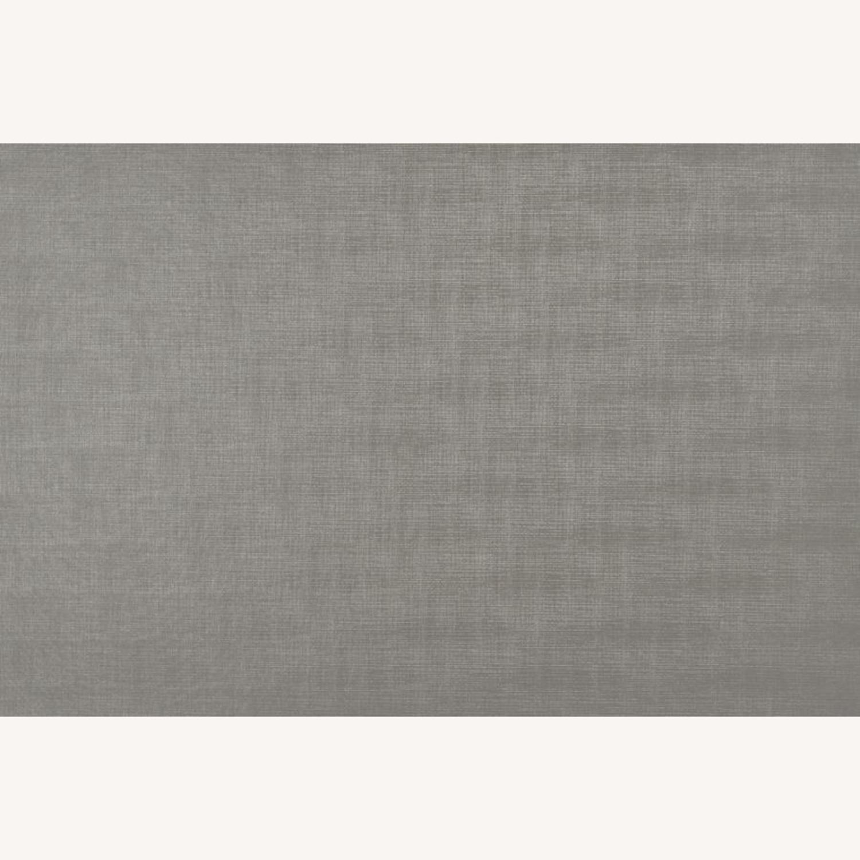 Nightstand In Metallic Sterling W/ Ring Handles - image-7