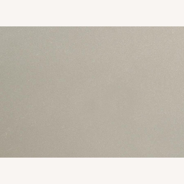 Nightstand In Metallic Sterling W/ Ring Handles - image-5