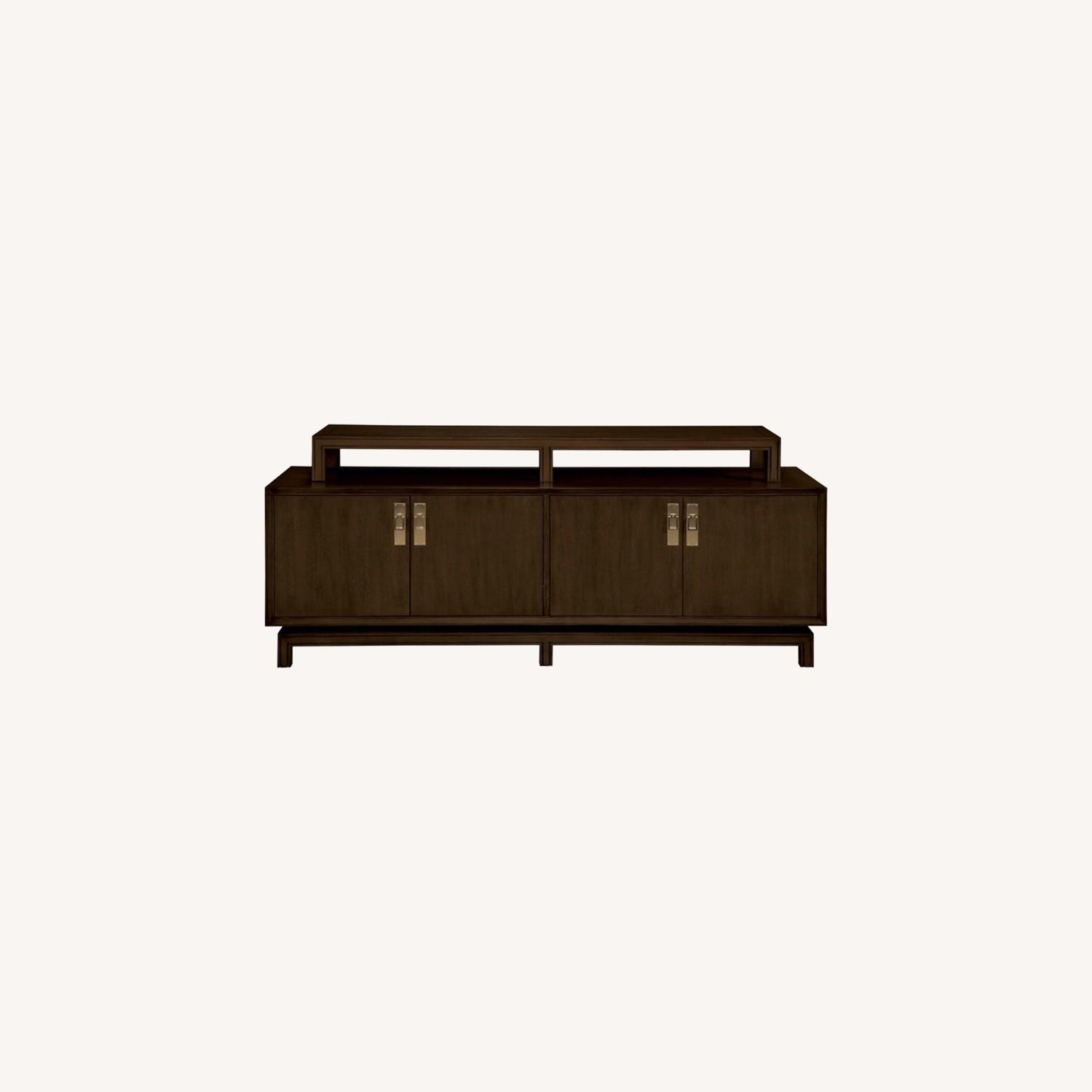 Contemporary Asian Inspired Tv Console - image-0