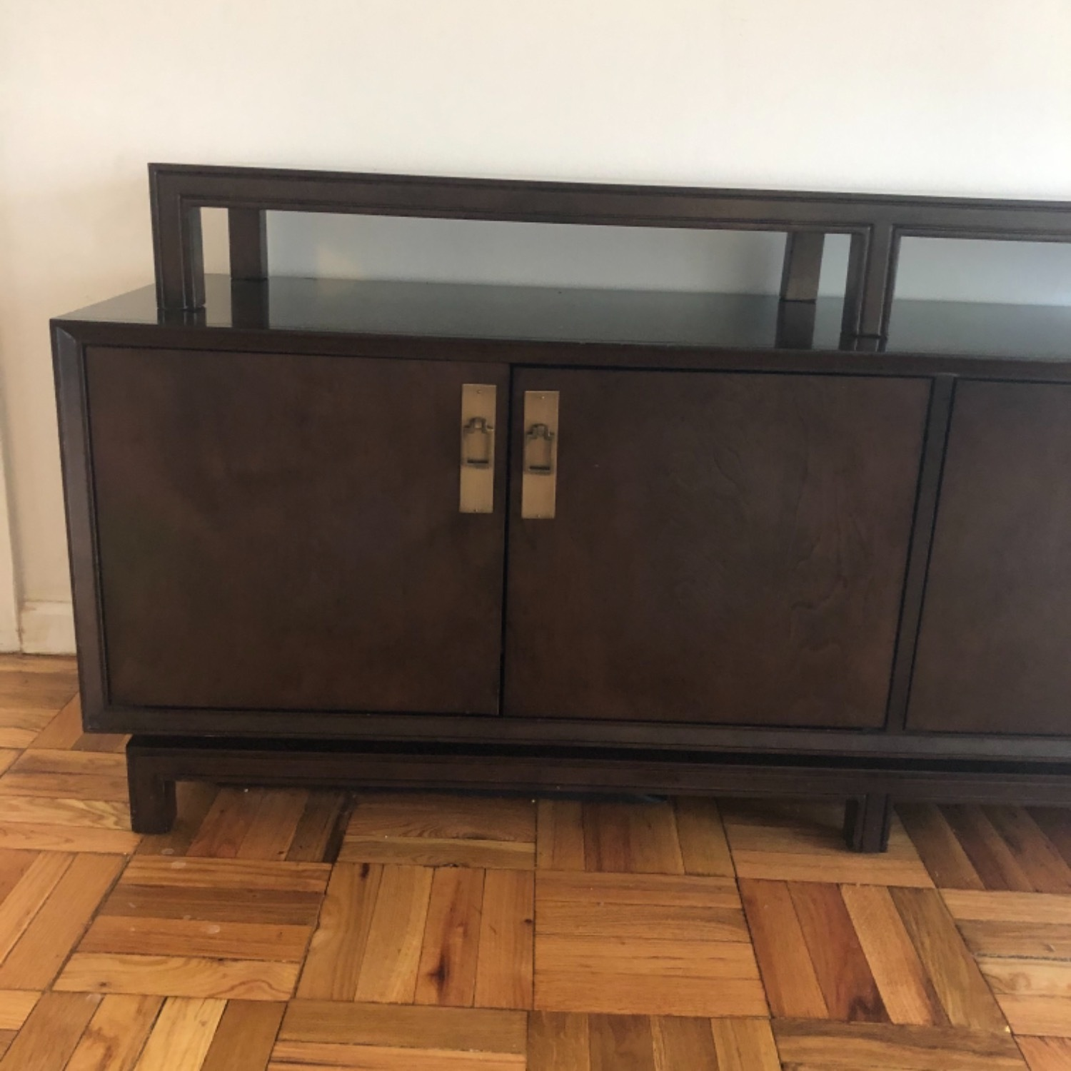Contemporary Asian Inspired Tv Console - image-7
