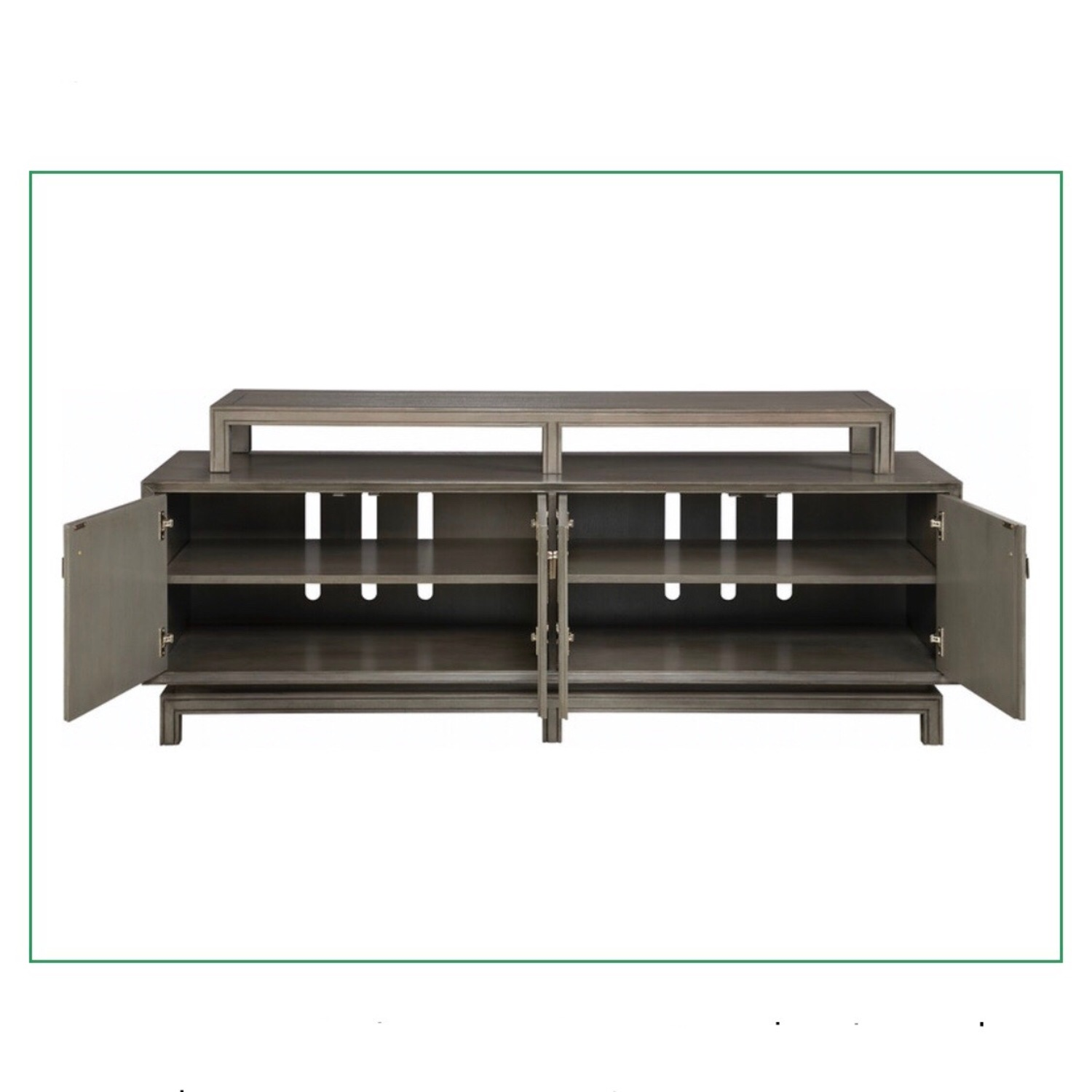 Contemporary Asian Inspired Tv Console - image-2
