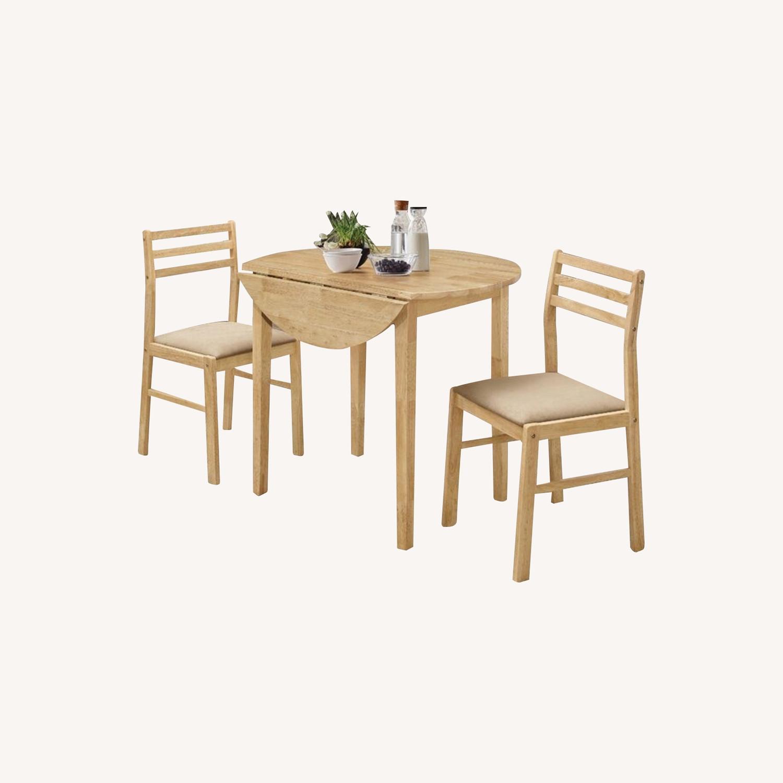 3 Piece Drop Leaf Dining Set - image-0