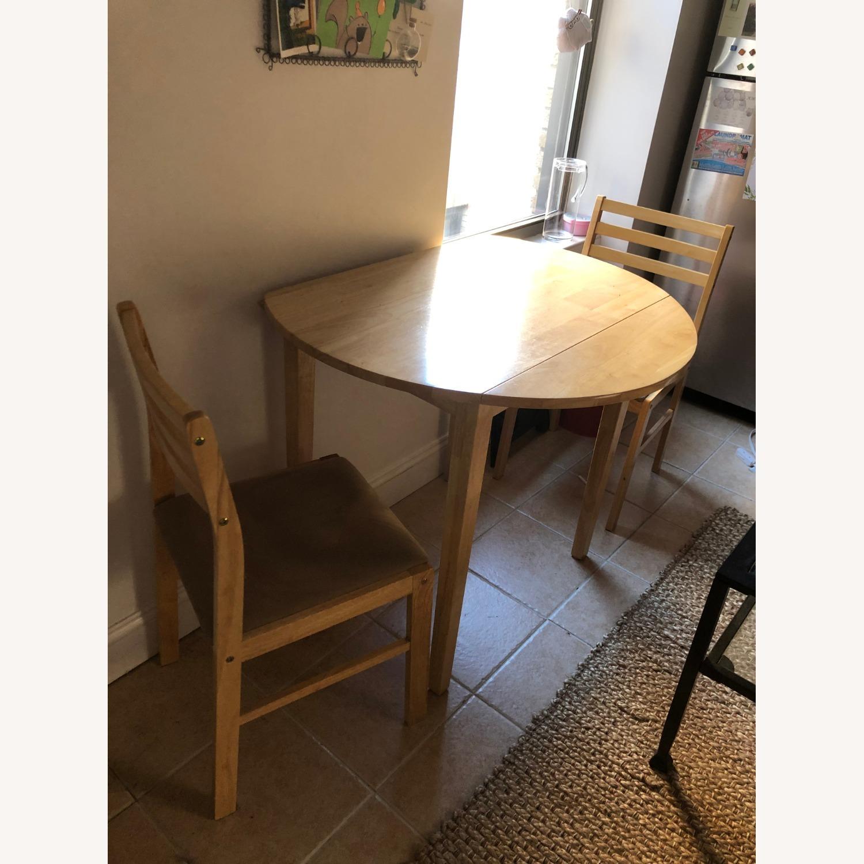 3 Piece Drop Leaf Dining Set - image-1