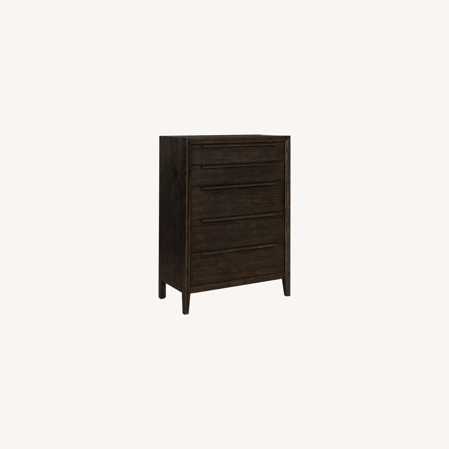 5-Drawer Chest In French Press Finish - image-3