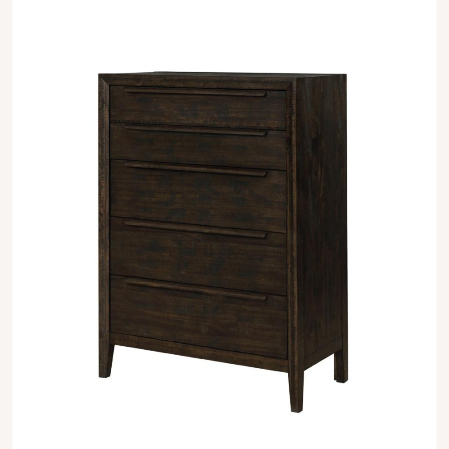 5-Drawer Chest In French Press Finish - image-1