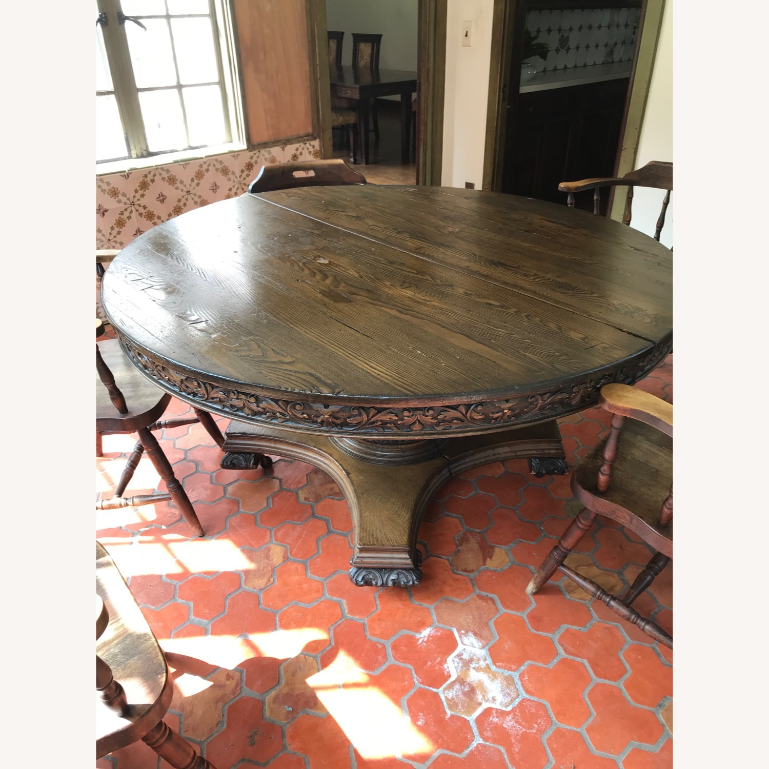 Antique/Vintage Dining Table - image-2