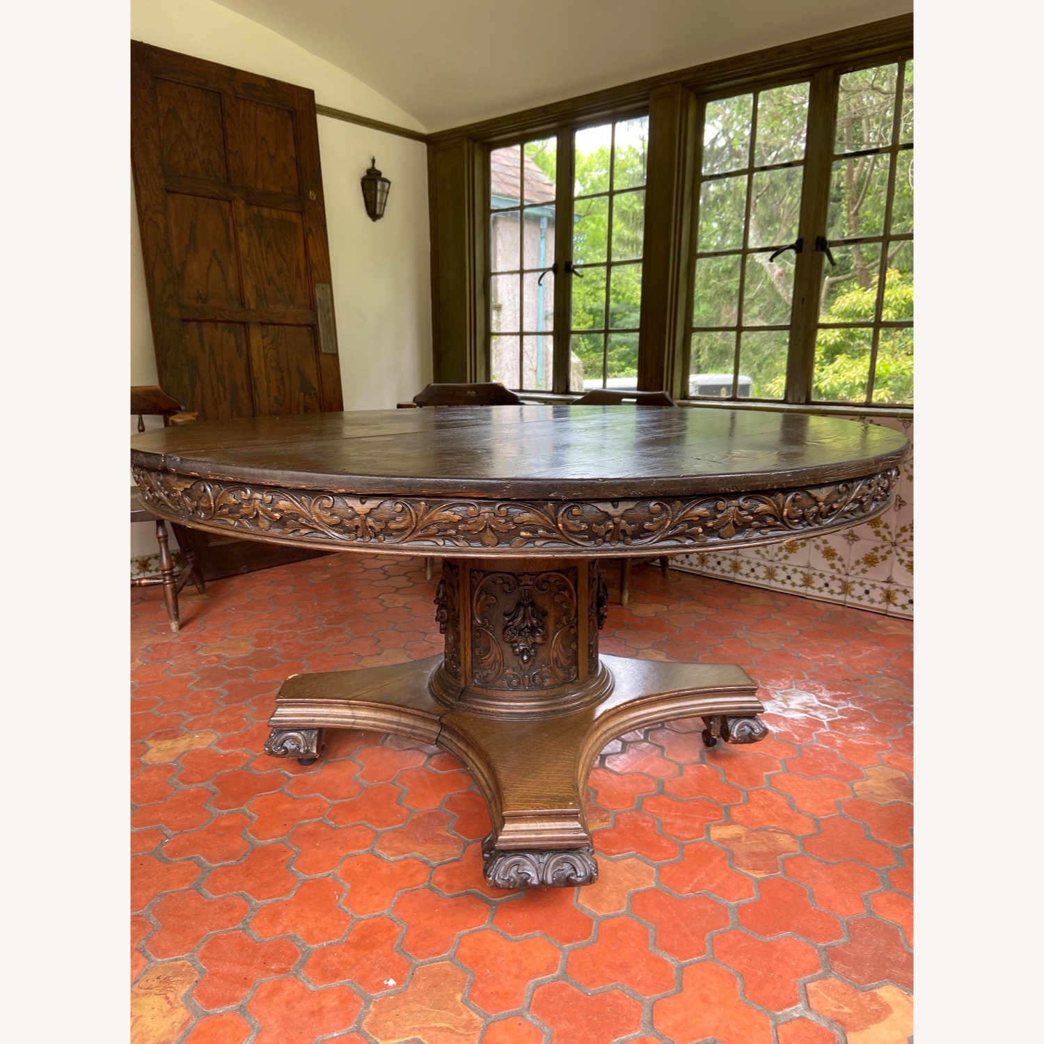 Antique/Vintage Dining Table - image-1