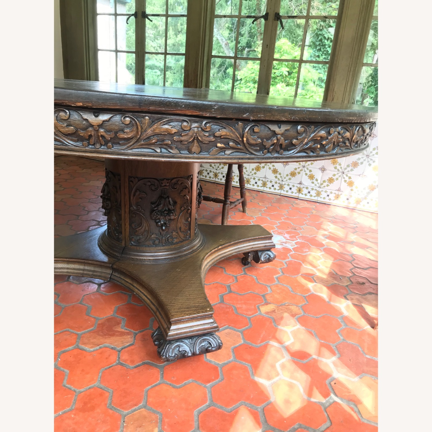 Antique/Vintage Dining Table - image-3