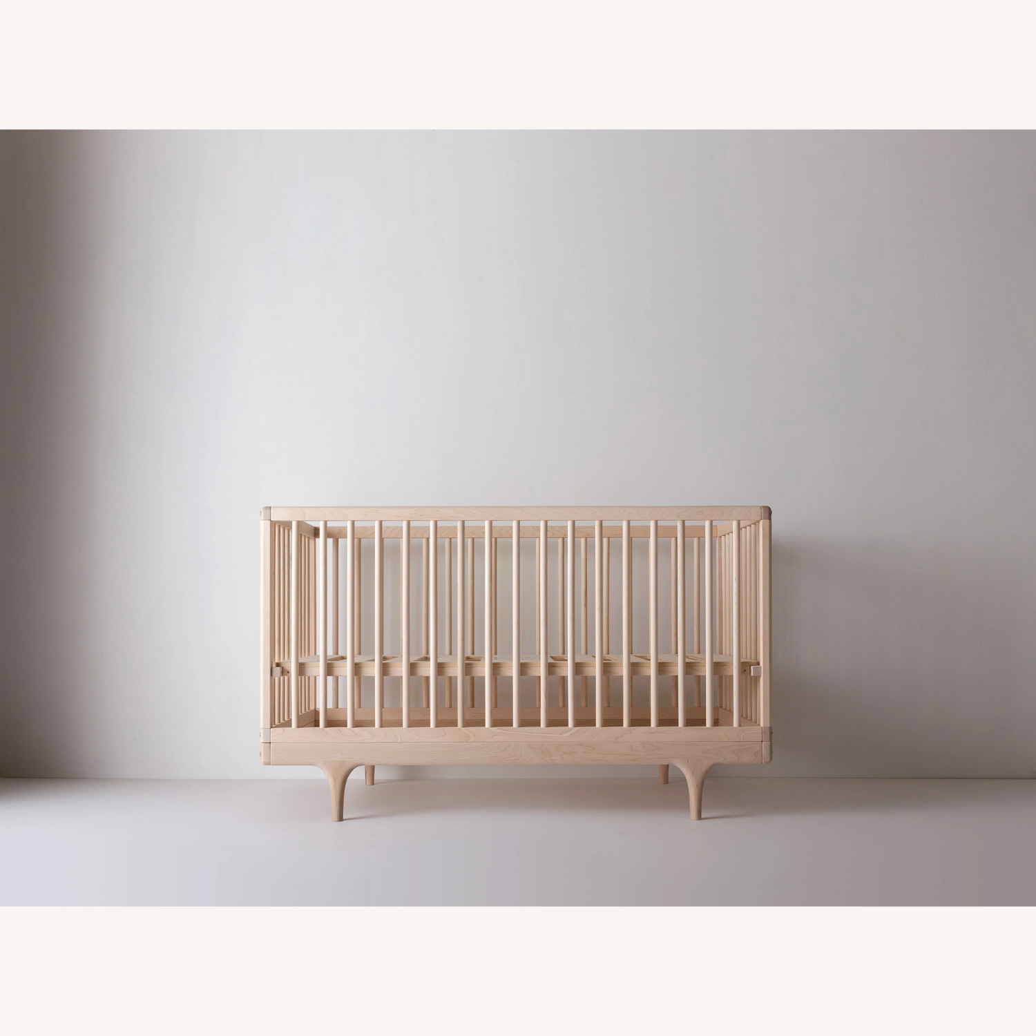 Natural Wood Kalon Caravan Crib - image-1