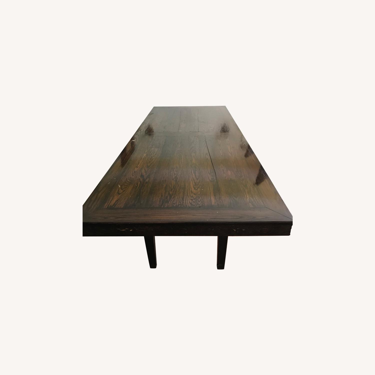 Wood Dining Room Table - image-0