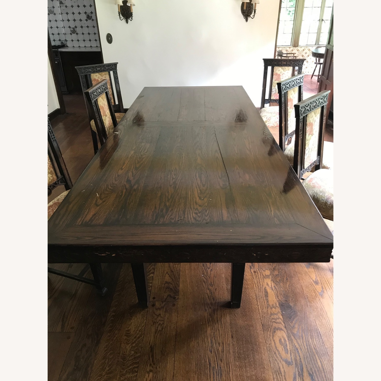 Wood Dining Room Table - image-1