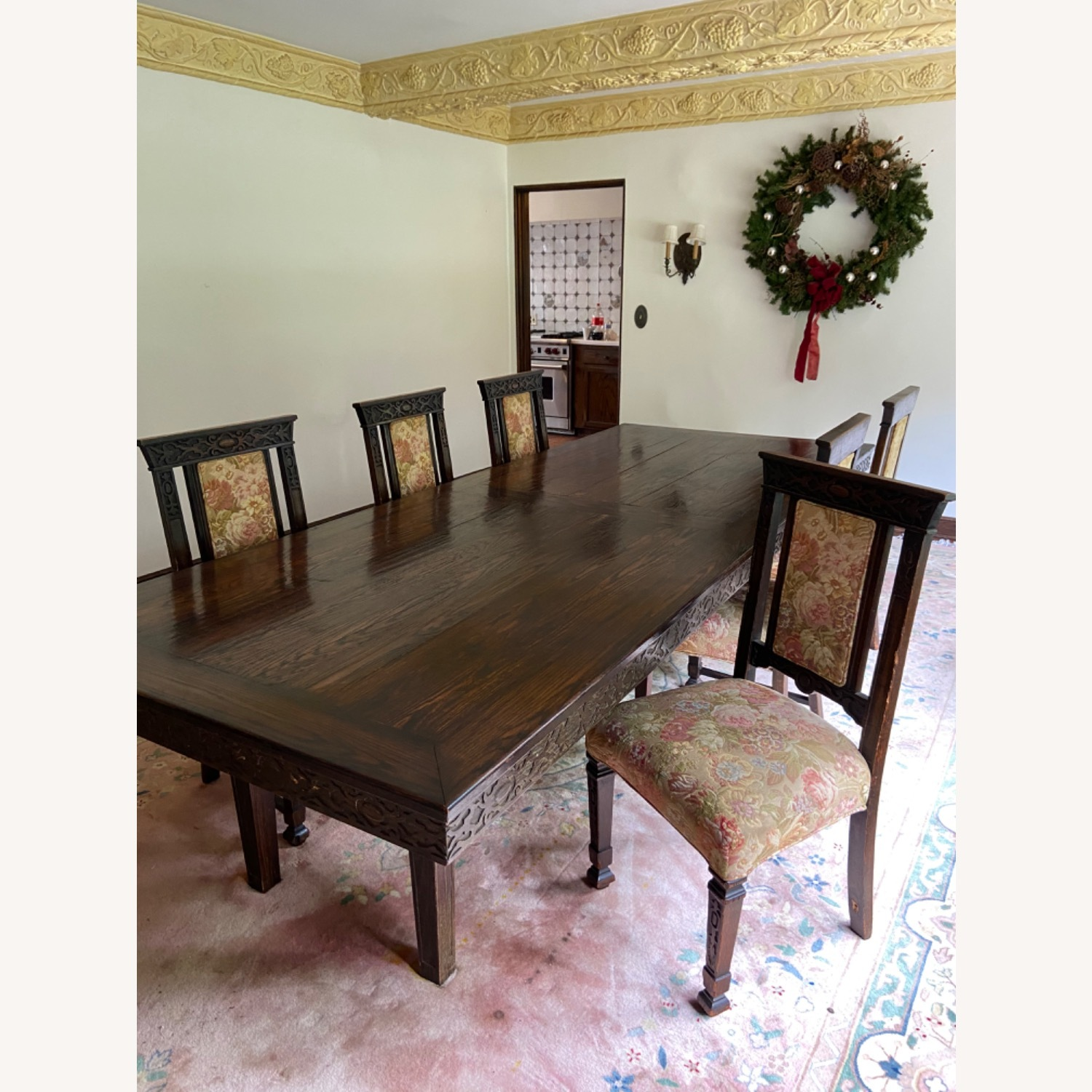 Wood Dining Room Table - image-6