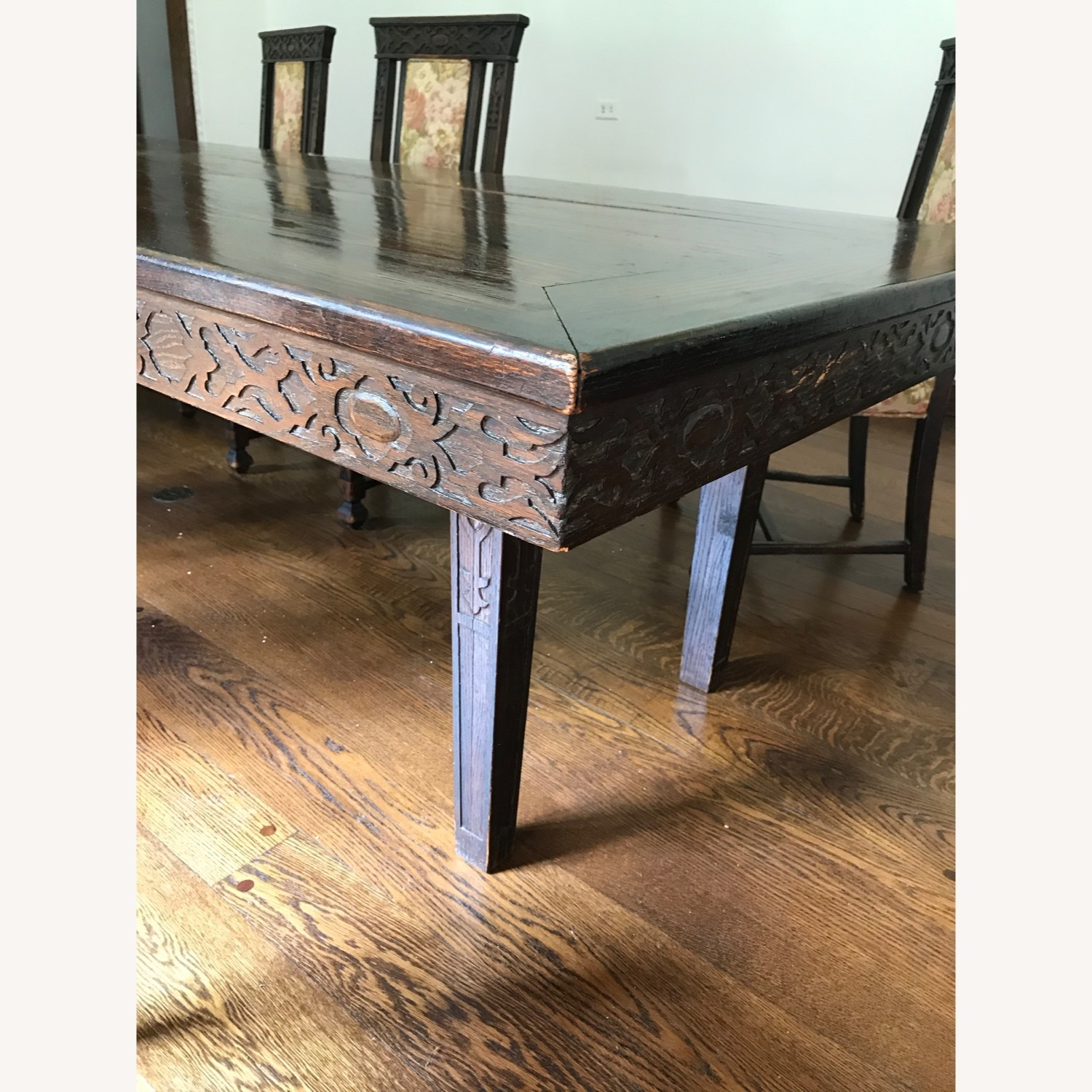 Wood Dining Room Table - image-3