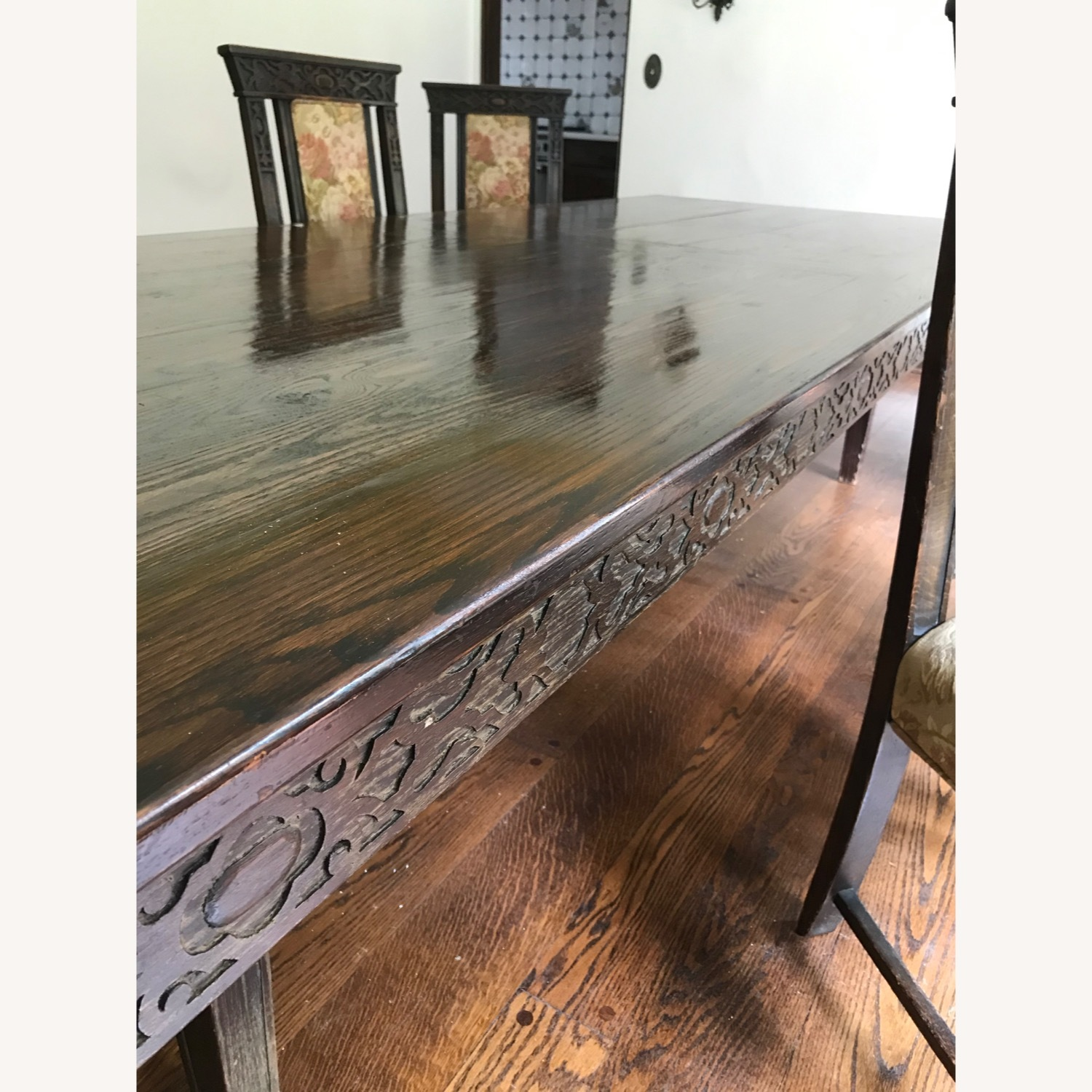 Wood Dining Room Table - image-2