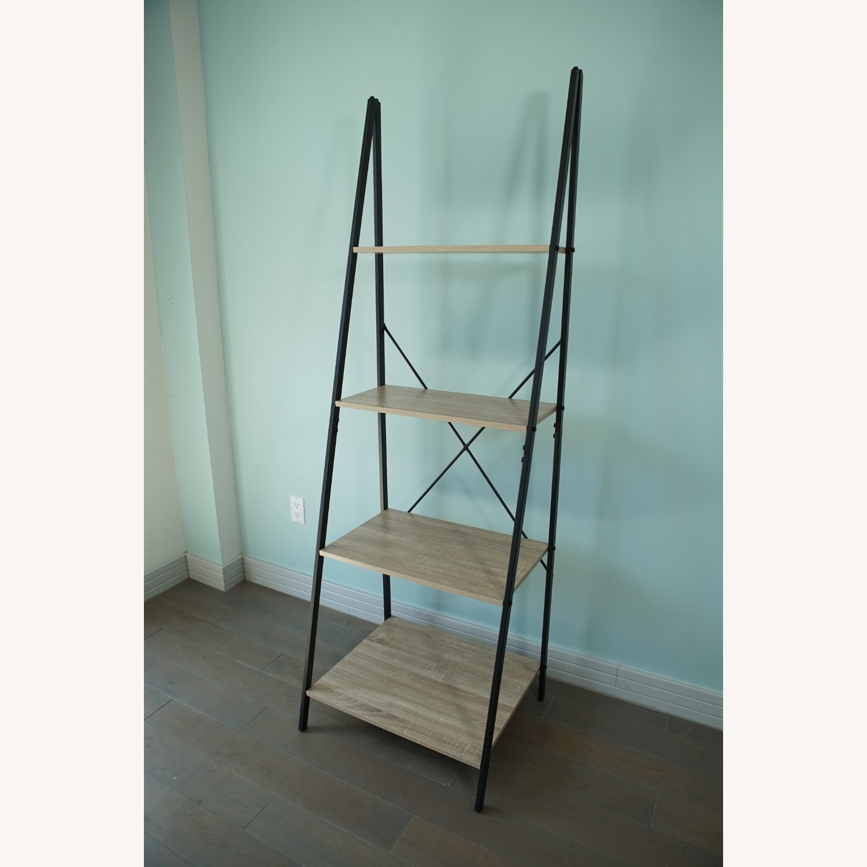 4-Tier Ladder Shelf Bookcase - image-1