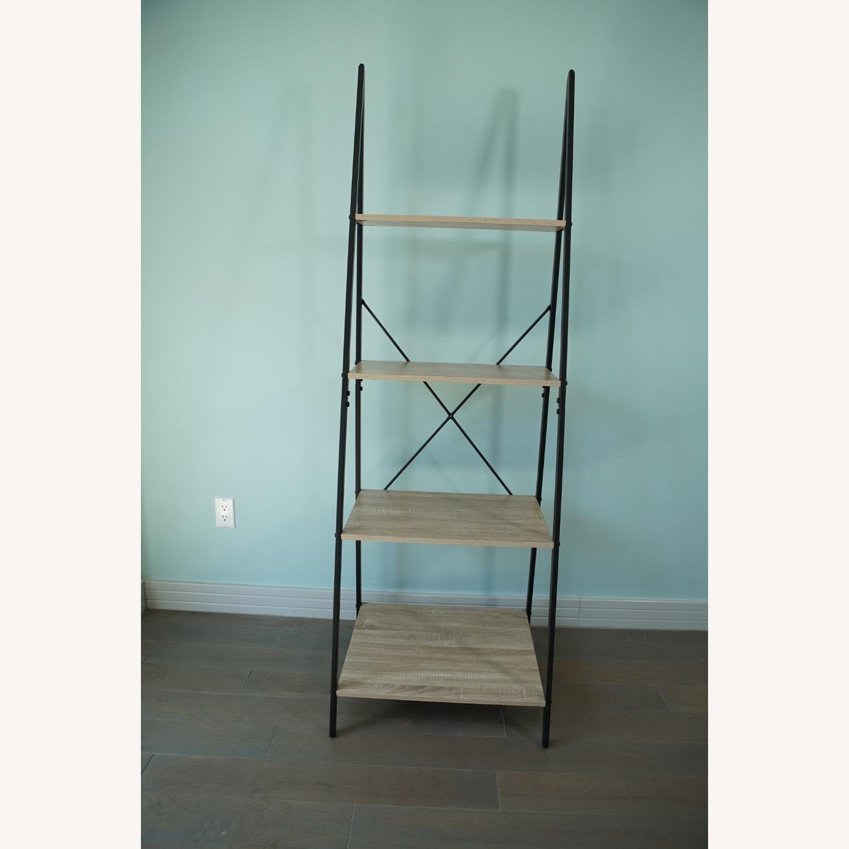 4-Tier Ladder Shelf Bookcase - image-2