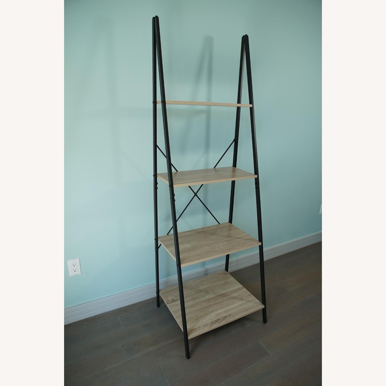 4-Tier Ladder Shelf Bookcase - image-3
