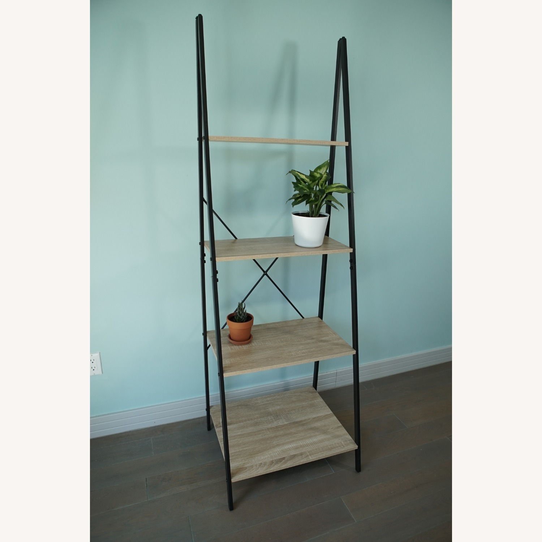 4-Tier Ladder Shelf Bookcase - image-4