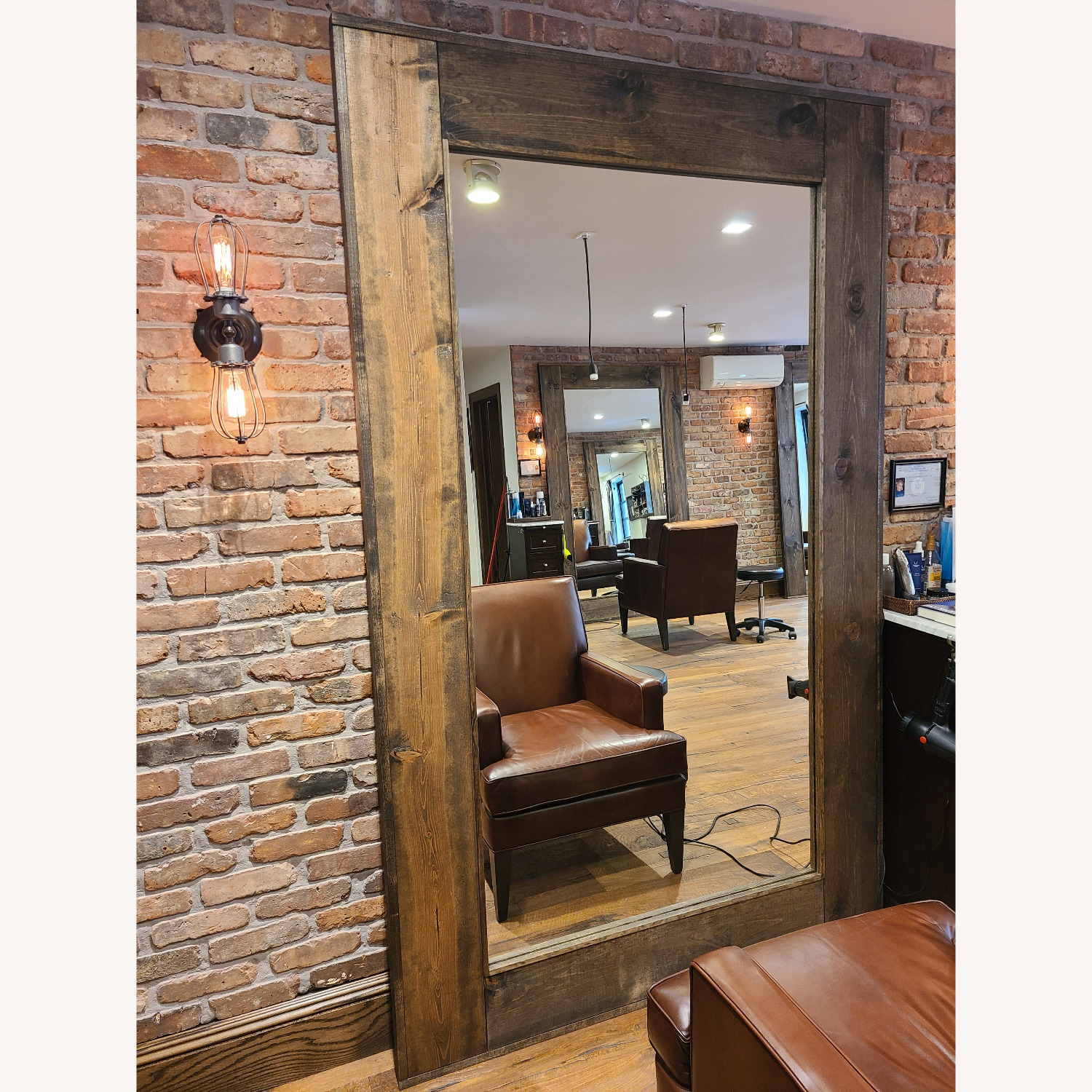 Reclaimed Wood Mirrors - image-2