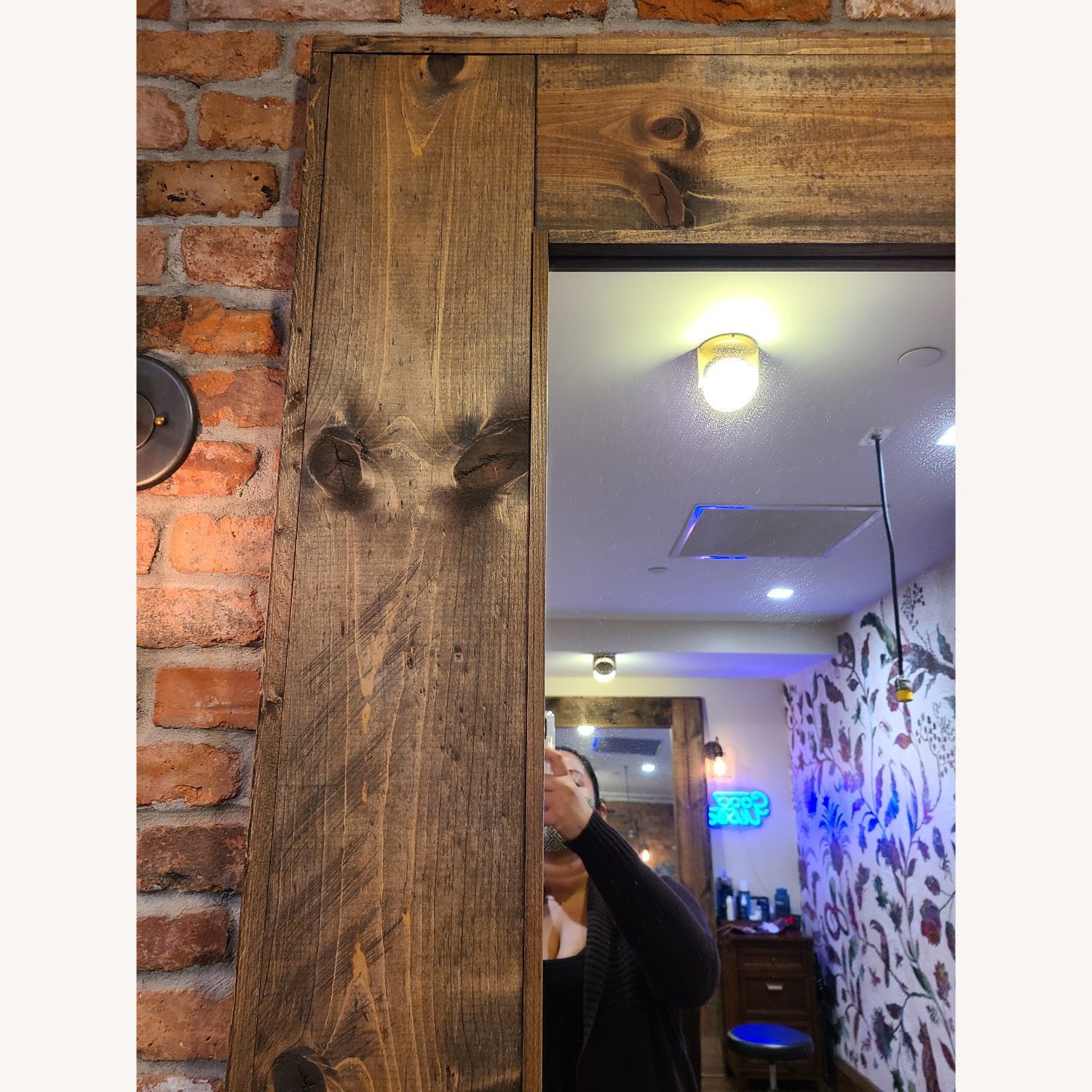 Reclaimed Wood Mirrors - image-1
