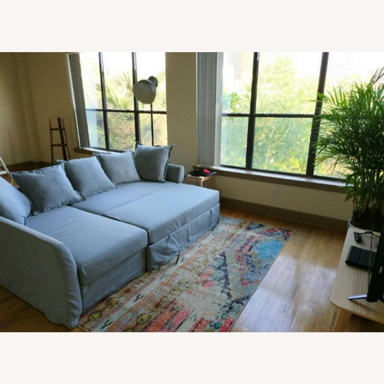 IKEA Sectional Sleeper Sofa - image-0