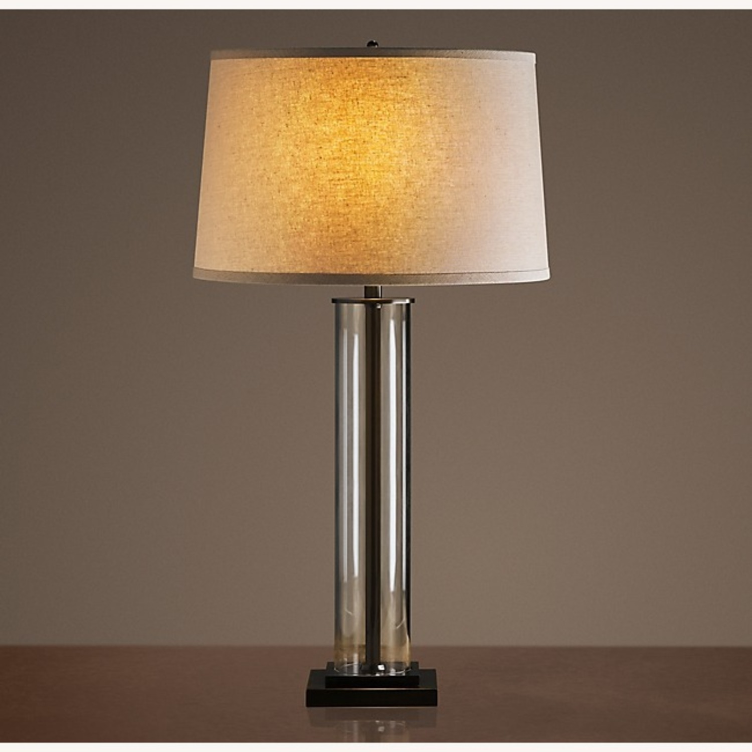 Restoration Hardware French Column Glass Table Lamp - image-4